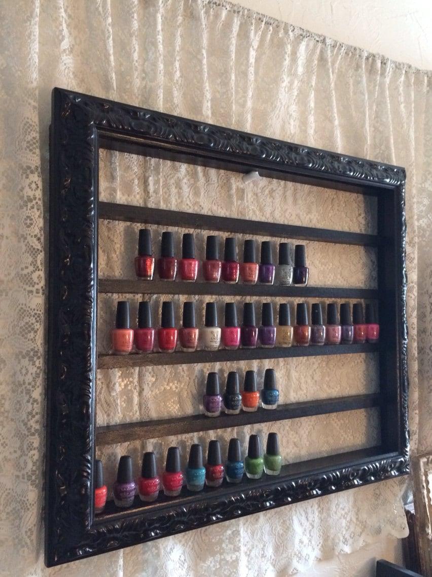 nail polish display shelf made for juulee12. Black Bedroom Furniture Sets. Home Design Ideas
