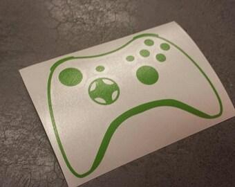 """5"""" Green XBOX Controller Decal"""