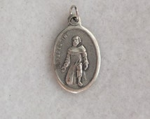 St Peregrine Mater Dolorosa Sorrowful Mother Virgin Mary Religious Catholic Patron Saint of Cancer Medal Charm Pendant