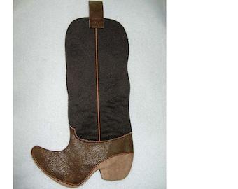 Cowboy Boot Gift bag #1