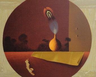 """Michel Charpentier """" Au Clair De La Plume """" Original Lithograph S/N Art"""