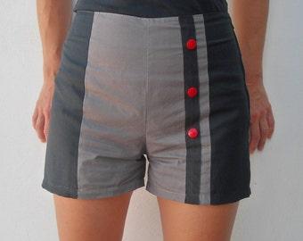 Gray & Black shorts
