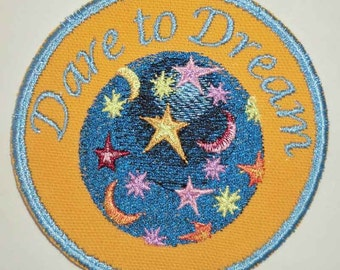 Iron-On Patch - DARE TO DREAM