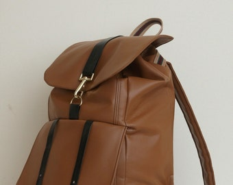 Experimental Vinyl Backpack