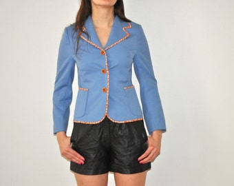 Vintage 70's Light Blue Jacket
