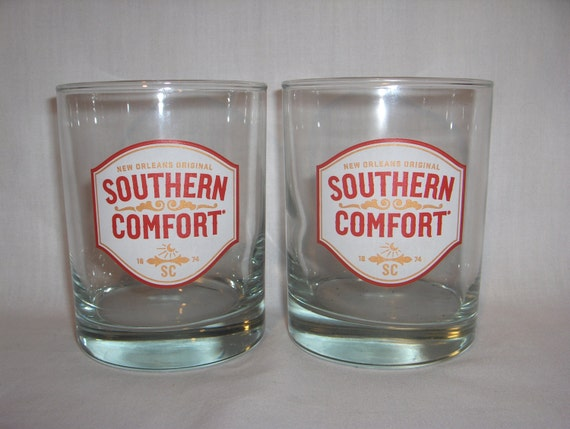 Southern Comfort Glasses Set Of 2