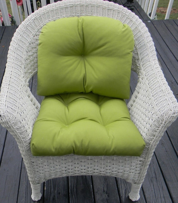 indoor outdoor wicker chair cushion back pillow cushion set