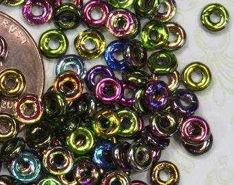Magic Purple Czech O Beads, 8g- Item 1601