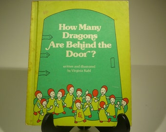 How Many Dragons are Behind the Door, 1977, Virginia Kahl, vintage kids book