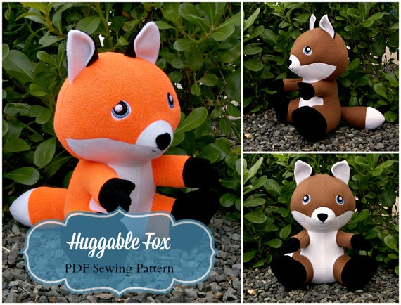 Huggable Fox Sewing Pattern