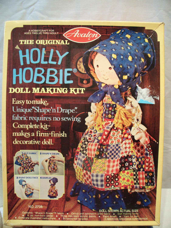 Vintage Original Holly Hobbie Doll Making Kit From