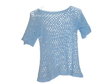Crochet top, womens clothing, ready to ship!  US shipping included!