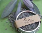Dried Sage dried herbs natural herbs herbs in tins spice tins organic dried herbs herb garden air dried herbs for cooking gift for chef