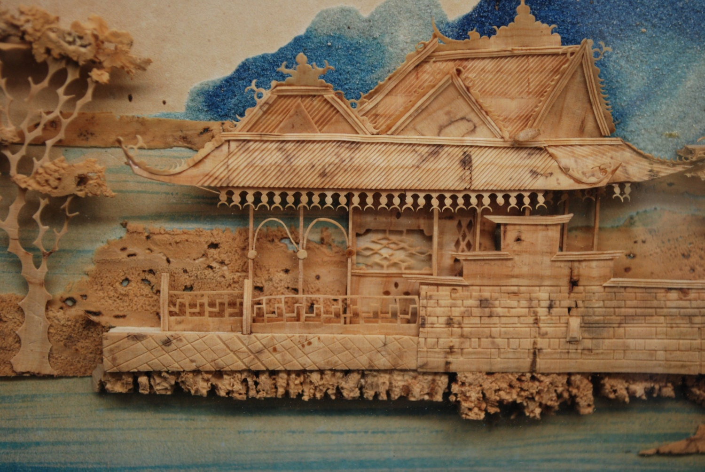 Asian Cork Art 120