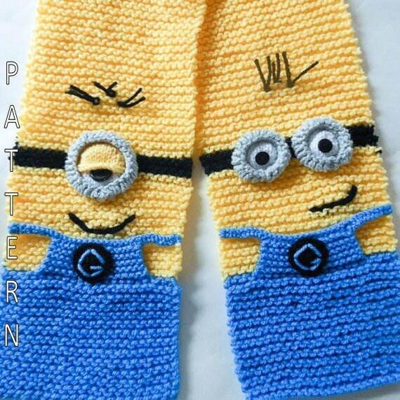 Despicable Me Minion Knitting Pattern