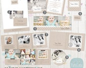 Print Marketing Set & Forms and Contracts - Photography Marketing Set Bundle - Photoshop Templates - LG017