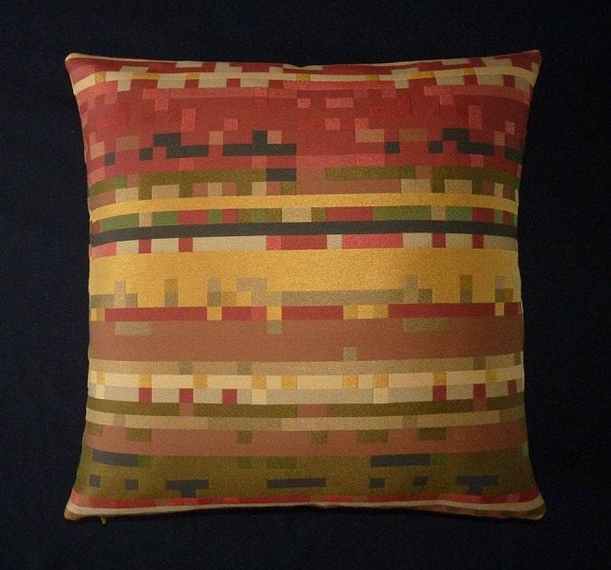 Maia Modern Pillows : Maharam modern style accent throw Pillow 17 X