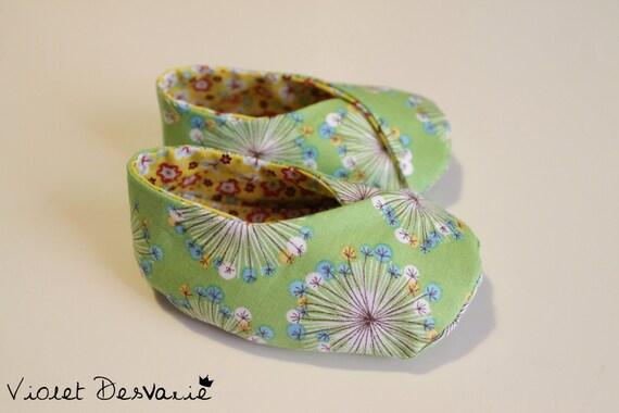 Zapatos Kimono para bebé Kimono Baby Shoes por VioletDesvarie