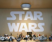 Star Wars Logo Removable Wall Decal Sticker