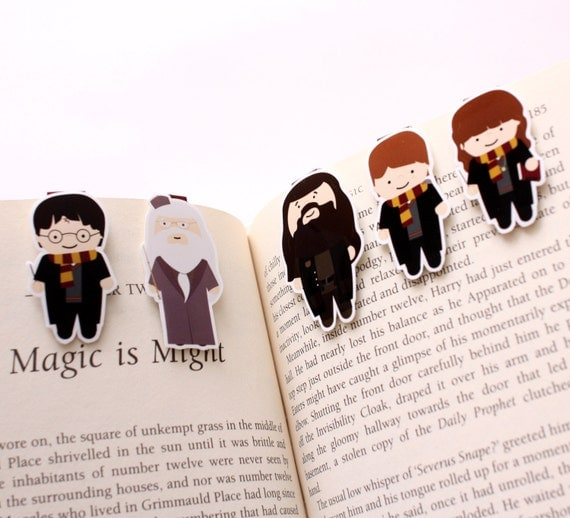 Wizard Mini Magnetic Bookmarks