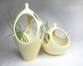 Pair of Peek-a-Boo Tabletop Planters