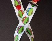 Teenage Mutant Ninja Turtles Ribbon Pacifier Binky Clip