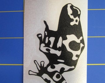 Poison Dart  Frog Decal/Sticker 3X5