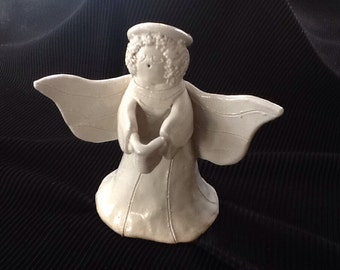Christmas pottery Angel-Mountain Mud Company