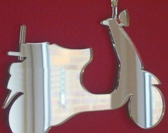Vespa Scooter Shaped Mirrors - 5 Sizes Available