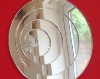Circle Sphere Infinity Shaped Mirrors - 5 Sizes Available