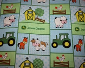 Fitted Pack n Play sheet -  Baby John Deere