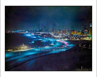 S. Lake Shore Drive Blues - 5x7 Greeting Card