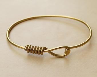 Gold Oval Bicycle Spoke Bracelet