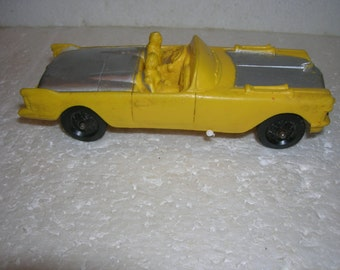 1958 AUBURN RUBBER Toy CADILLAC Convertible Toy Car