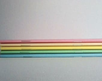 5 Pastel Collection Notebook/Cahier, Moleskin
