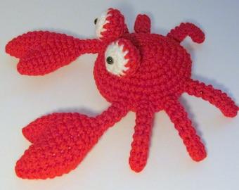 Amigurumi Crab PDF Crochet Pattern INSTANT DOWNLOAD