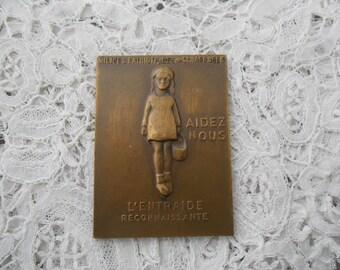Old plaque/medal