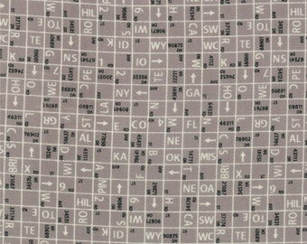 Road 15 One Way by Sweetwater for Moda Fabrics,Mist, 552416