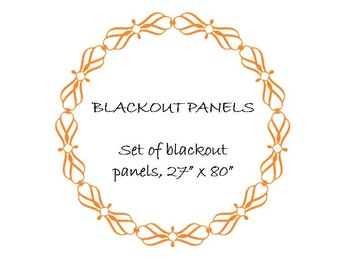 Blackout Panels, Blackout Curtains