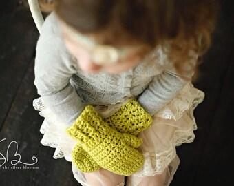 Mittens, Kids Mittens, Children's Mittens, Crochet Mittens - ANY COLOR