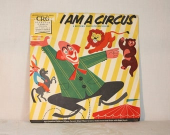 Children's Record Guild, I am a Circus children's vinyl record from the 1950s, CRG 1028