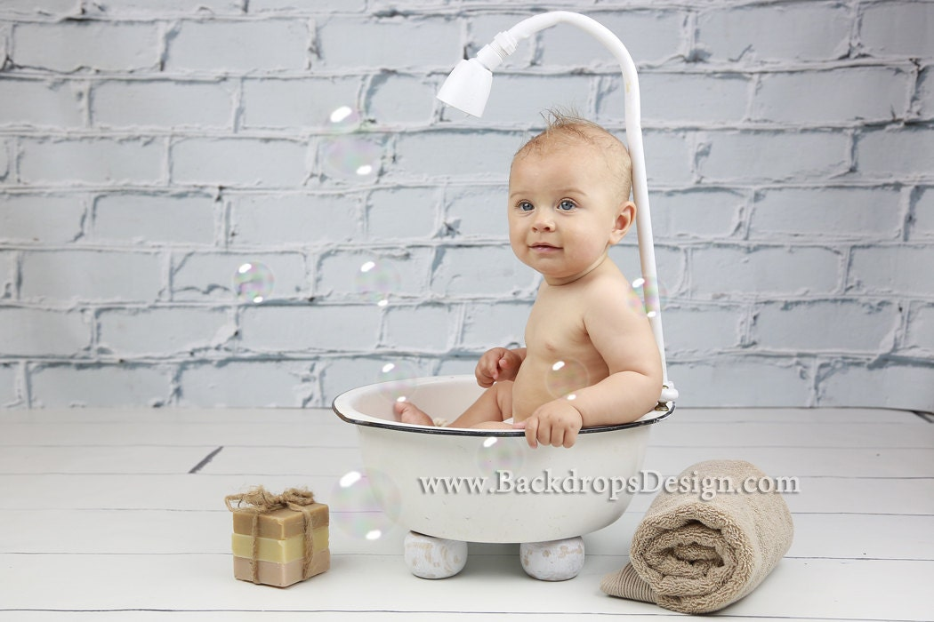 ready to ship bathtub 6 months baby photography newborn. Black Bedroom Furniture Sets. Home Design Ideas