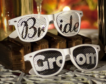 Bride and Groom Sunglasses - The Original!