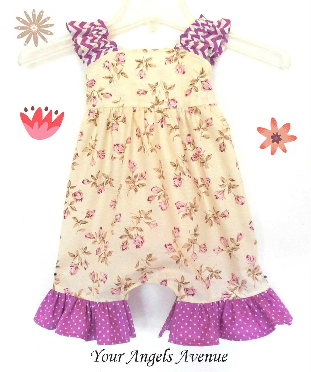 baby toddler clothing vintage inspired shabby chic