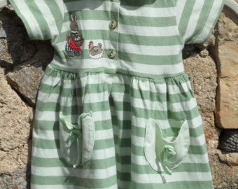 French, vintage child's dress by Natalys