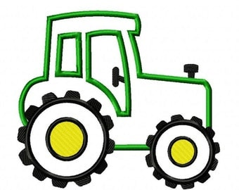 Tractor 2 Machine Embroidery Design