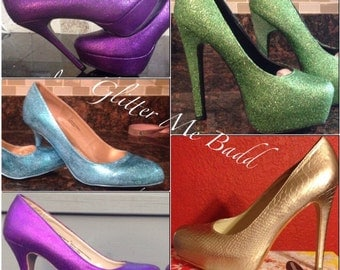 Choose your own color high heels