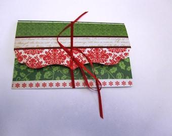 One gift card holder