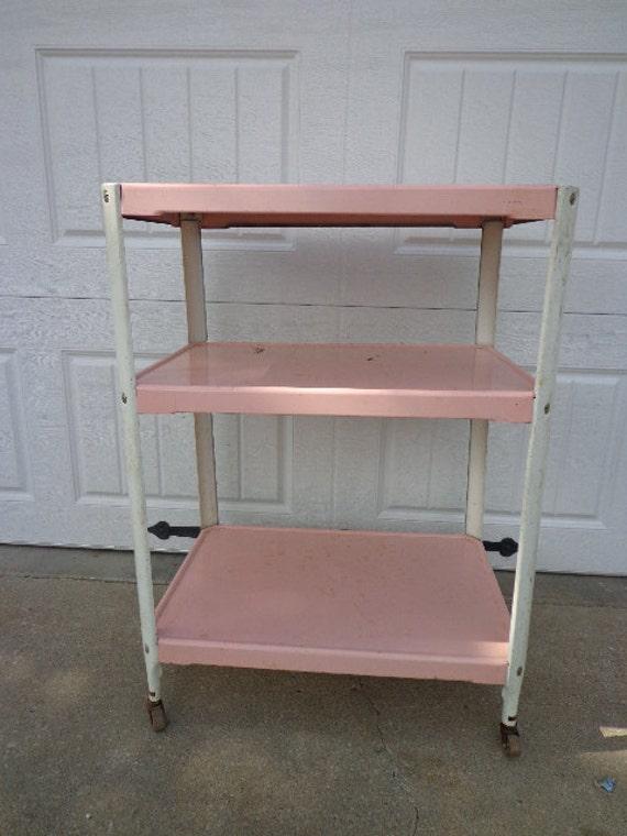 vintage cosco bar cart mid century tea cart mid century mcm. Black Bedroom Furniture Sets. Home Design Ideas