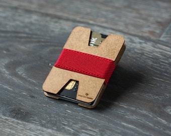 Minimalist wallet, thin wallet, credit card holder, men and women wallet, slim wallet, modern design wallet, X wallet, Elephant Wallet